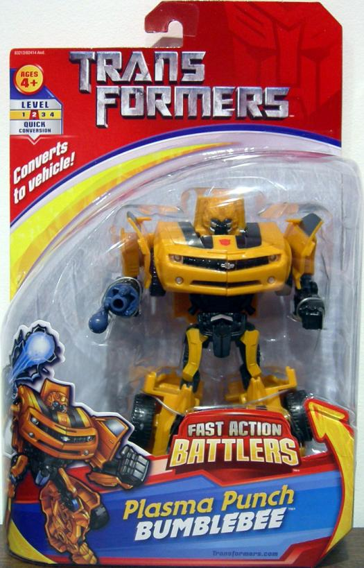 Plasma Punch Bumblebee Fast Action Battlers