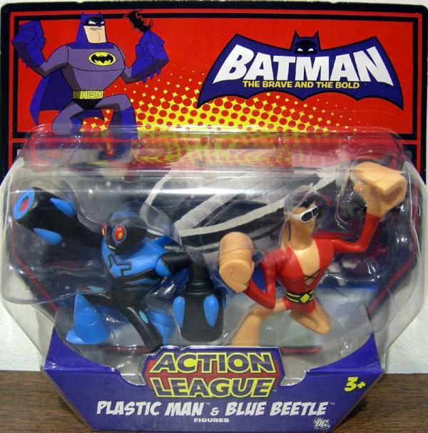 Plastic Man Blue Beetle Action League