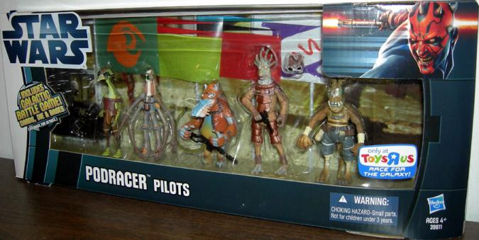 Podracer Pilots 5-Pack Toys R Us Exclusive