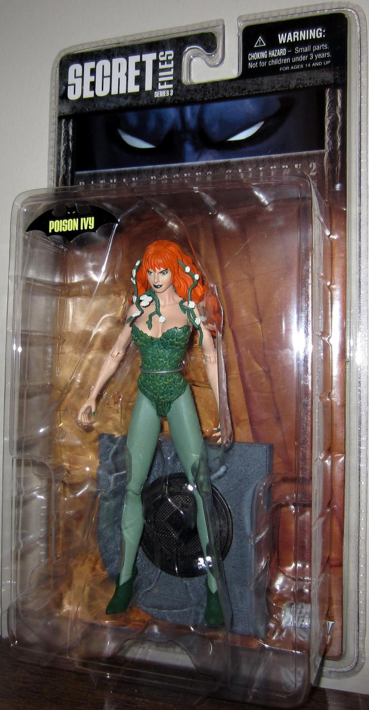 Poison Ivy Batman Rogues Gallery 2 Secret Files Series 3 action figure