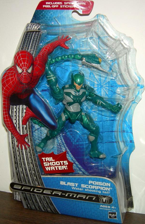 Poison Blast Scorpion Action Figure Spider-Man Hasbro