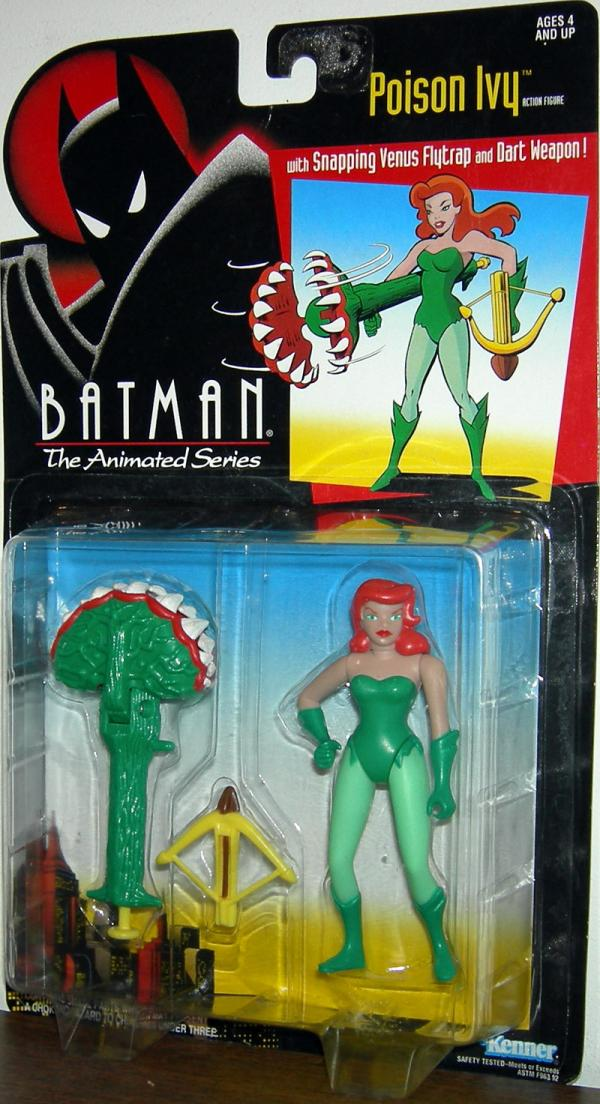 Poison Ivy Batman Animated Series action figure