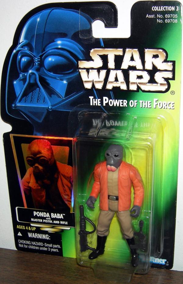 Ponda Baba Figure Collection 3 Gray Grey Beard Star Wars