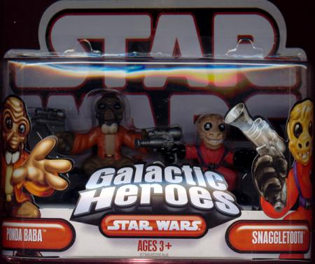 Ponda Baba Snaggletooth Galactic Heroes