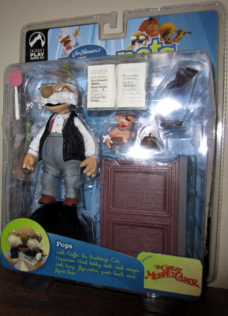 Pops Figure Great Muppet Caper Series Nine Palisades