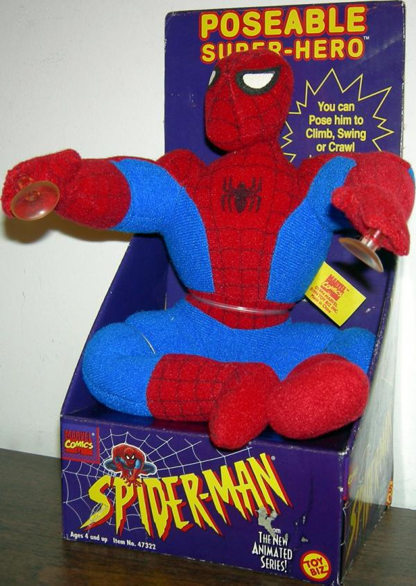 10 inch Poseable Spider-Man (plush)