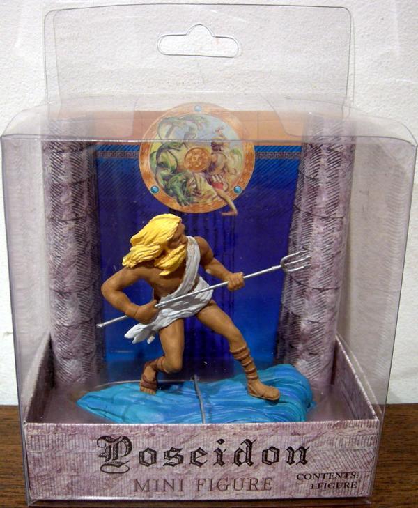 Poseidon Mini Figure Mythology Sababa Toys
