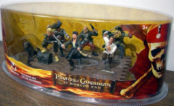 At Worlds End 7-Piece Figurine Set, 3 1-2 inch