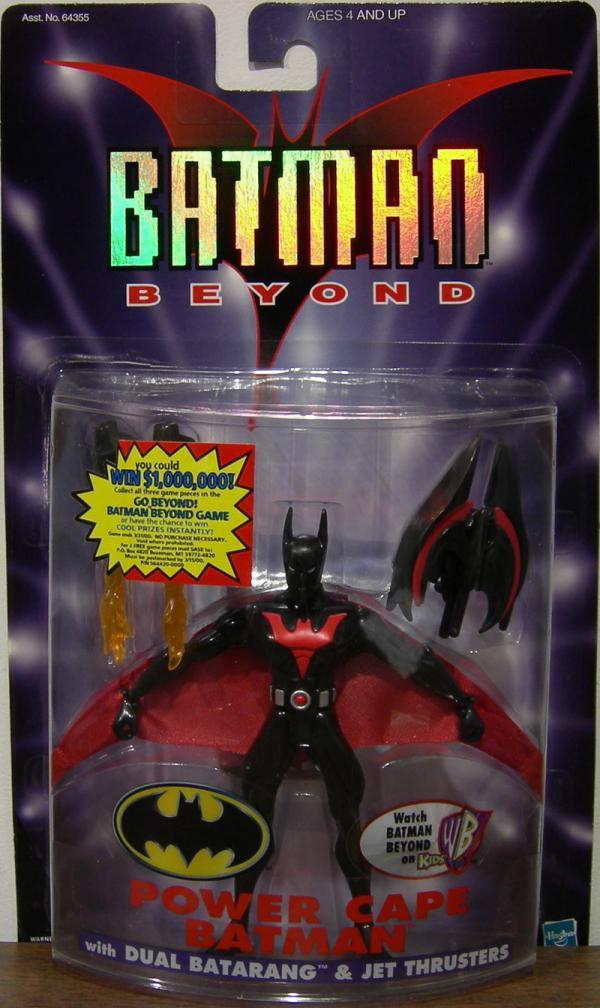 Power Cape Batman Beyond Action Figure Hasbro