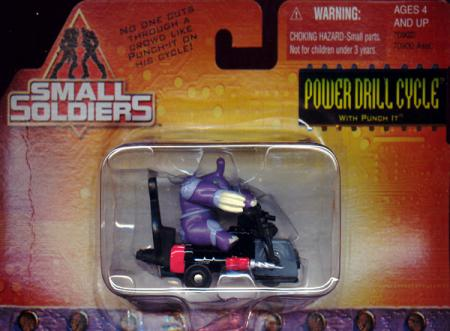 Power Drill Cycle Die-Cast Small Soldiers Vehicle