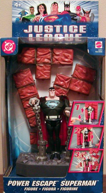 Power Escape Superman Justice League