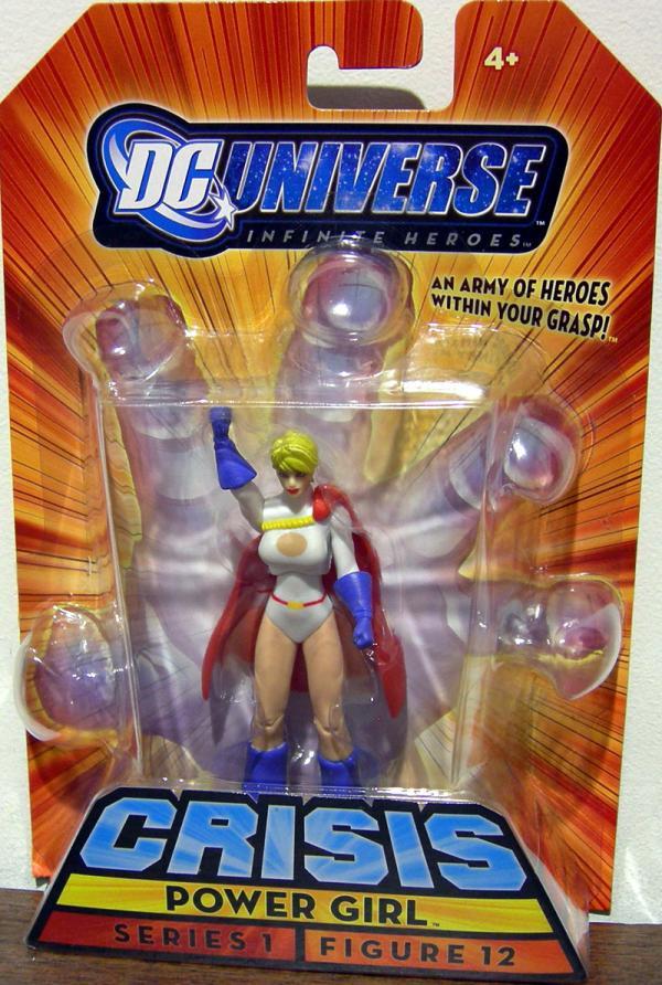 Power Girl Infinite Heroes, figure 12