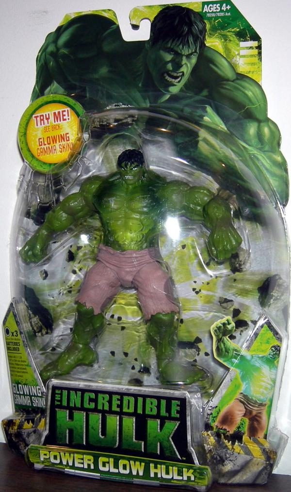 Power Glow Hulk Movie Action Figure Hasbro
