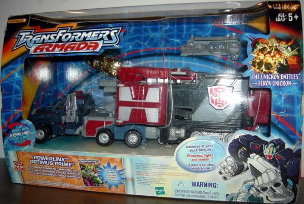 Powerlinx Optimus Prime Transformers Armada