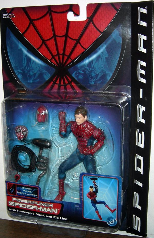 Power Punch Spider-Man Movie Action Figure Toy Biz