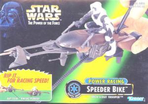 Power Racing Speeder Bike Vehicle Action Figure Star Wars