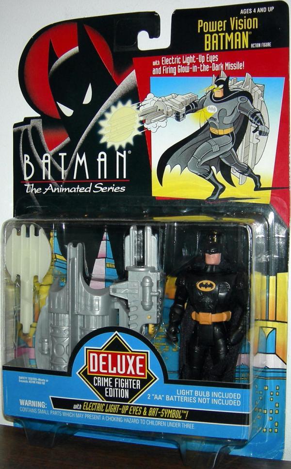 Power Vision Batman Batman Animated Series