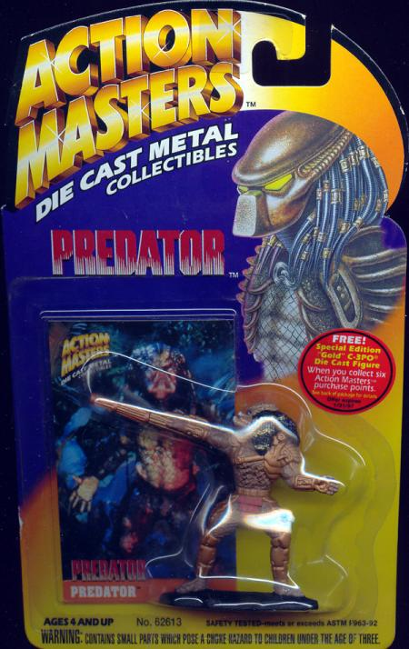Predator Action Masters diecast