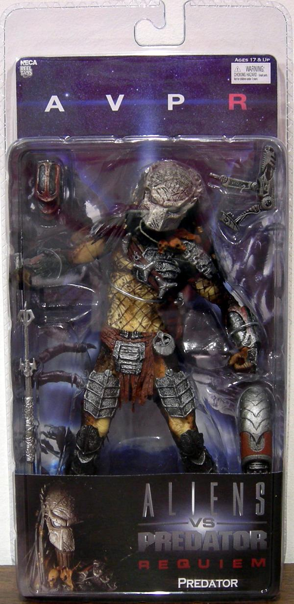 Predator Masked Figure AVPR Aliens vs Predator Requiem