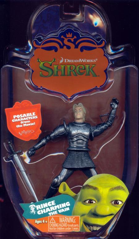 Prince Charming the Vain Action Figure Shrek MGA Entertainment