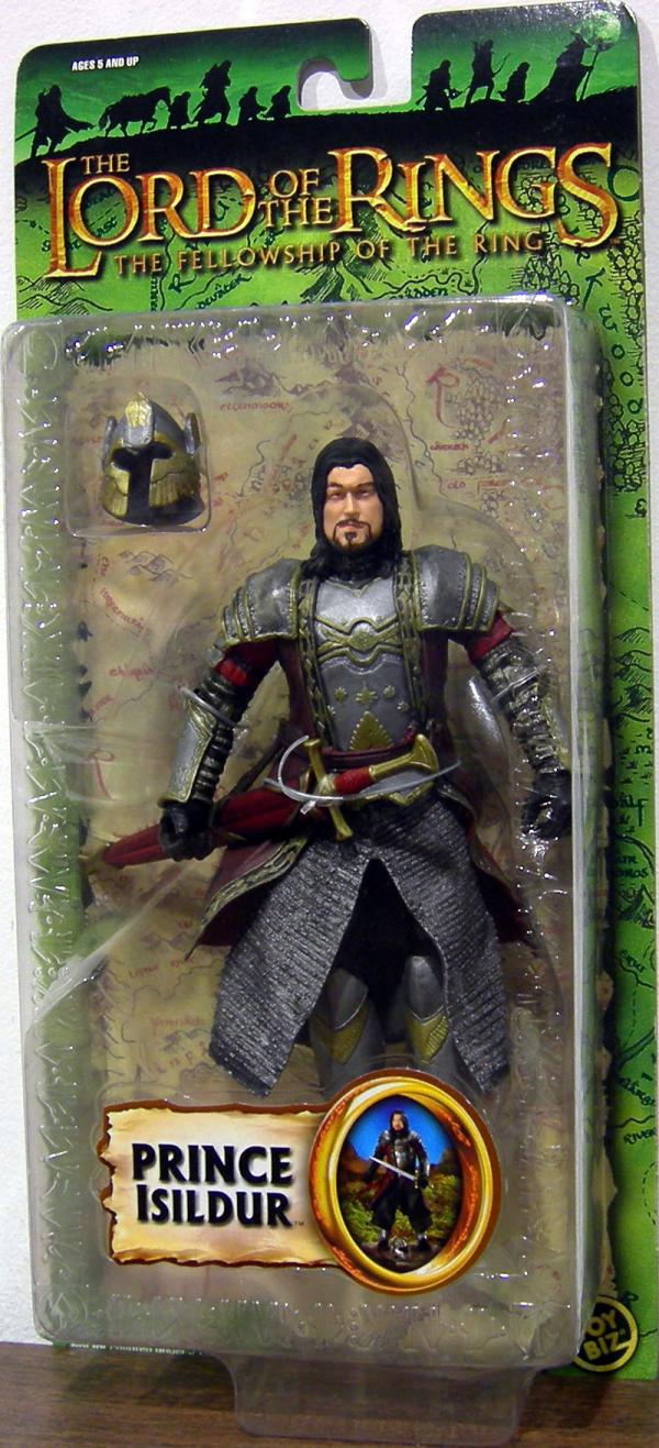 Prince Isildur Figure Trilogy Lord Rings Fellowship Ring