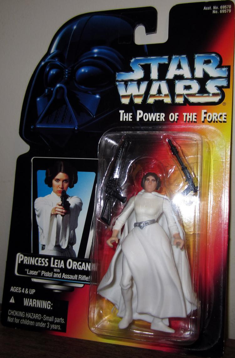 Princess Leia Organa Figure Laser Pistol Assault Rifle