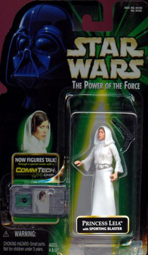 Princess Leia Sporting Blaster CommTech