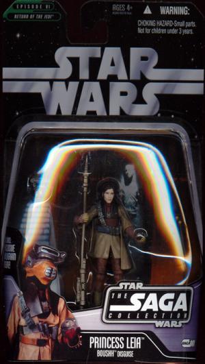 Princess Leia Boushh Disguise Star Wars Saga Collection 001 action figure
