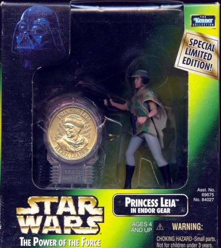 Princess Leia Endor Gear coin