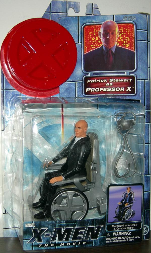 Professor X Figure X-Men Movie Patrick Stewart Toy Biz