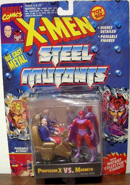Professor X vs Magneto Figures Steel Mutants X-Men