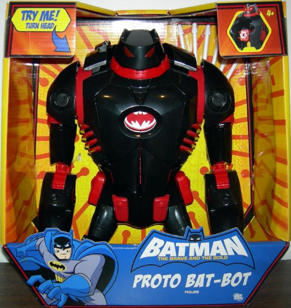 Proto Bat-Bot Figure Batman Brave Bold Mattel