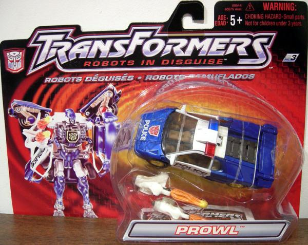 Prowl Robots Disguise