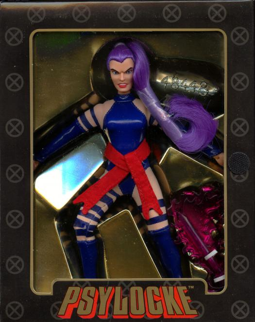 8 inch Psylocke, Famous Covers