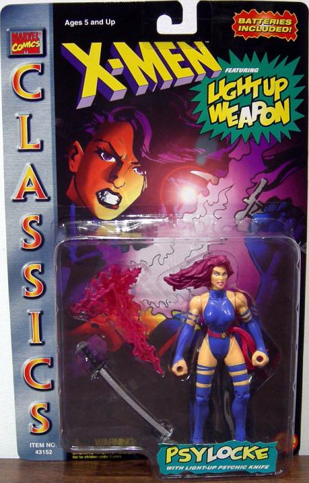 Psylocke Figure Classics Light-Up Weapon X-Men