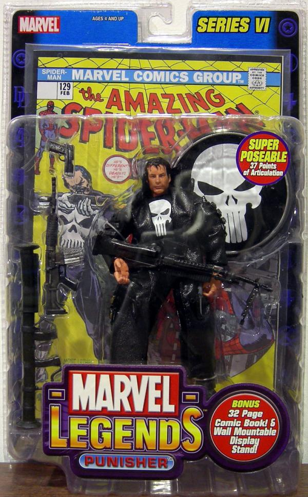 Punisher Marvel Legends Figure Series VI Toy Biz
