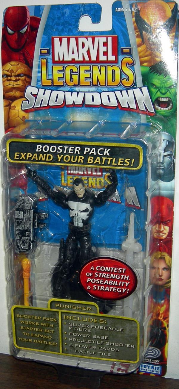 Punisher Figure Marvel Legends Showdown Toy Biz