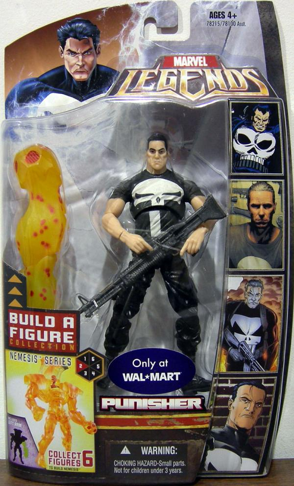Punisher Marvel Legends Nemesis Series action figure