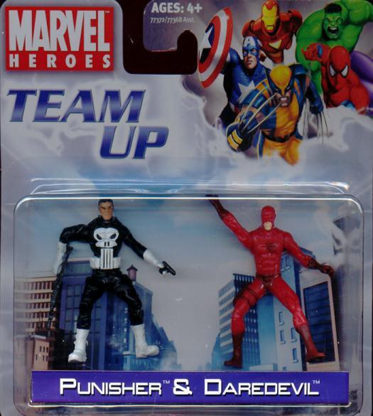 Punisher Daredevil Team Up
