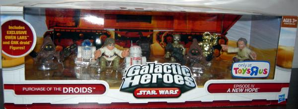 Purchase Droids 9-Pack Galactic Heroes