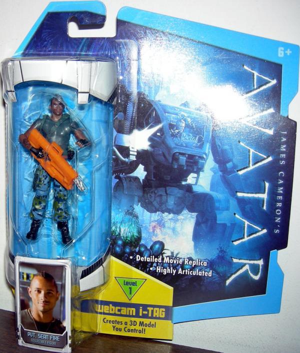 Pvt Sean Fike Avatar action figure