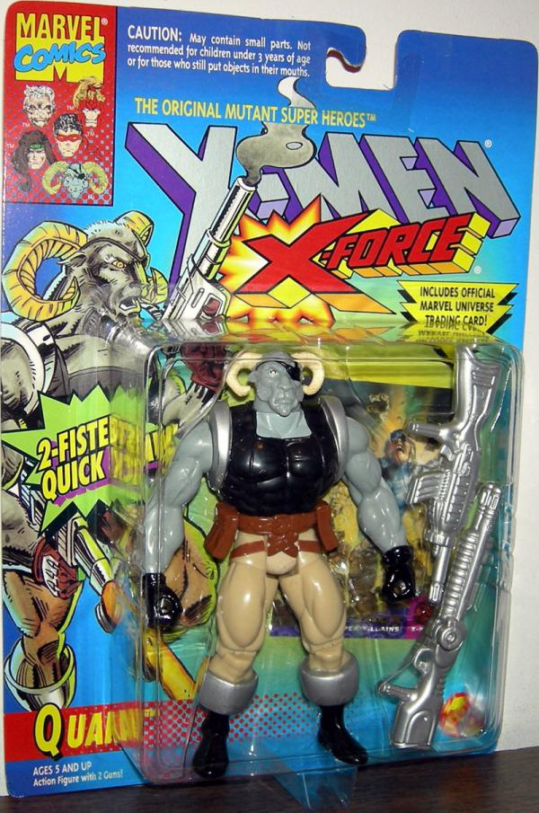 Quark Figure X-Men X-Force 2-Fisted Quick Draw Toy Biz