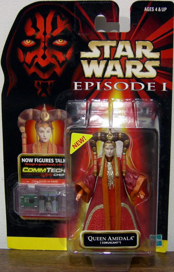Queen Amidala Coruscant Figure Star Wars Episode 1