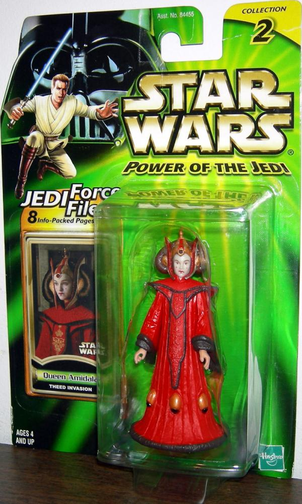 Queen Amidala Theed Invasion Star Wars Power Jedi action figure