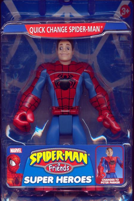 Quick Change Spider-Man Spider-Man Friends