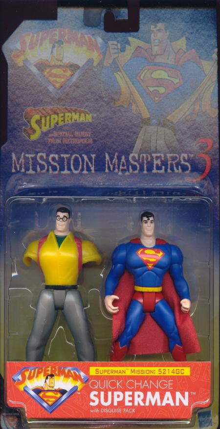Quick Change Superman Mission Masters 3
