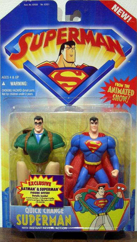 Quick Change Superman