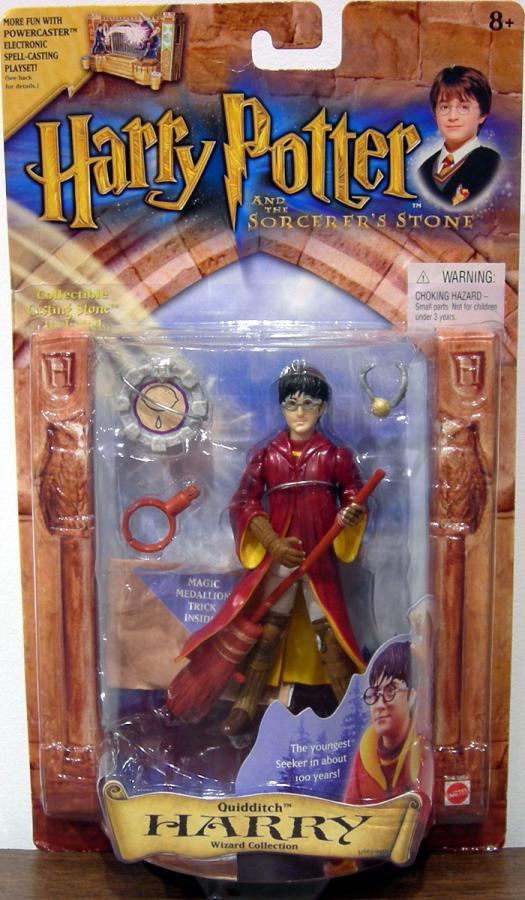Quidditch Harry Potter Wizard Collection Sorcerers Stone action figure
