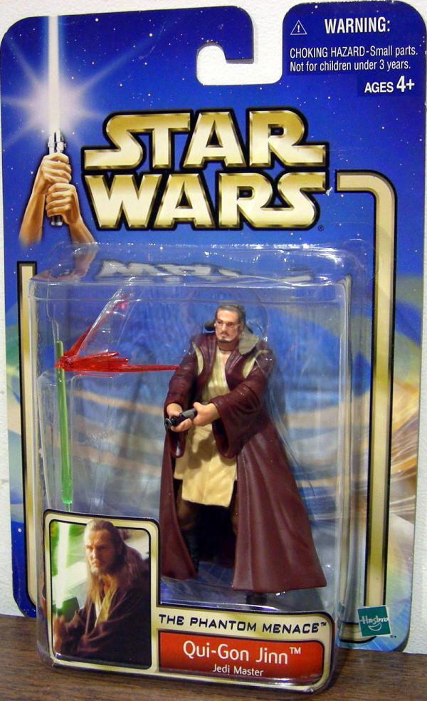 Qui-Gon Jinn Figure Jedi Master Star Wars Phantom Menace