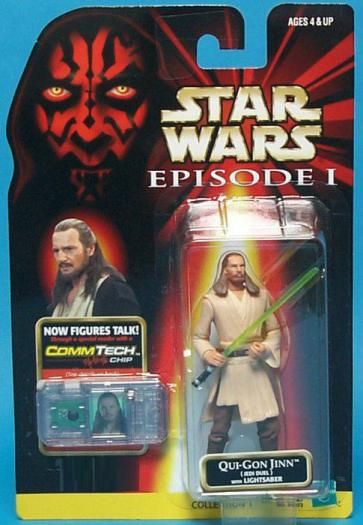 Qui-Gon Jinn Jedi Duel Action Figure Lightsaber Star Wars
